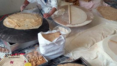 طراحی و دوخت کیسه پارچهای به جای کیسه پلاستیکی در نانوایی سلامت پز خانم فریدی