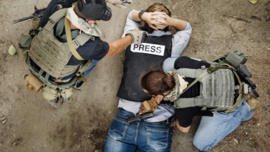 اصول و قواعد ایمنی خبرنگاران محله گیچ